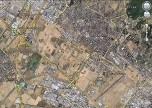 Area da Google Earth