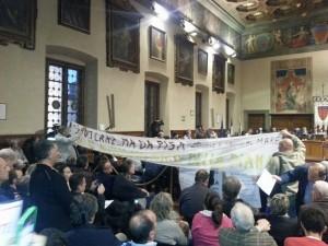 protest at Prato city council1