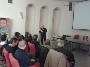 L'intervento del Gen. Battisti